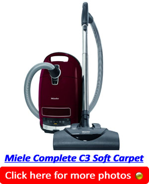 Miele Complete C3 Soft Carpet Canister