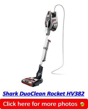 Shark DuoClean Rocket HV382