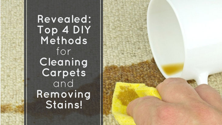 DIY Stain Removal And Carpet Cleaning