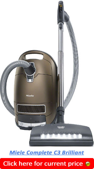 Miele Complete C3 Brilliant Best Canister Vacuum